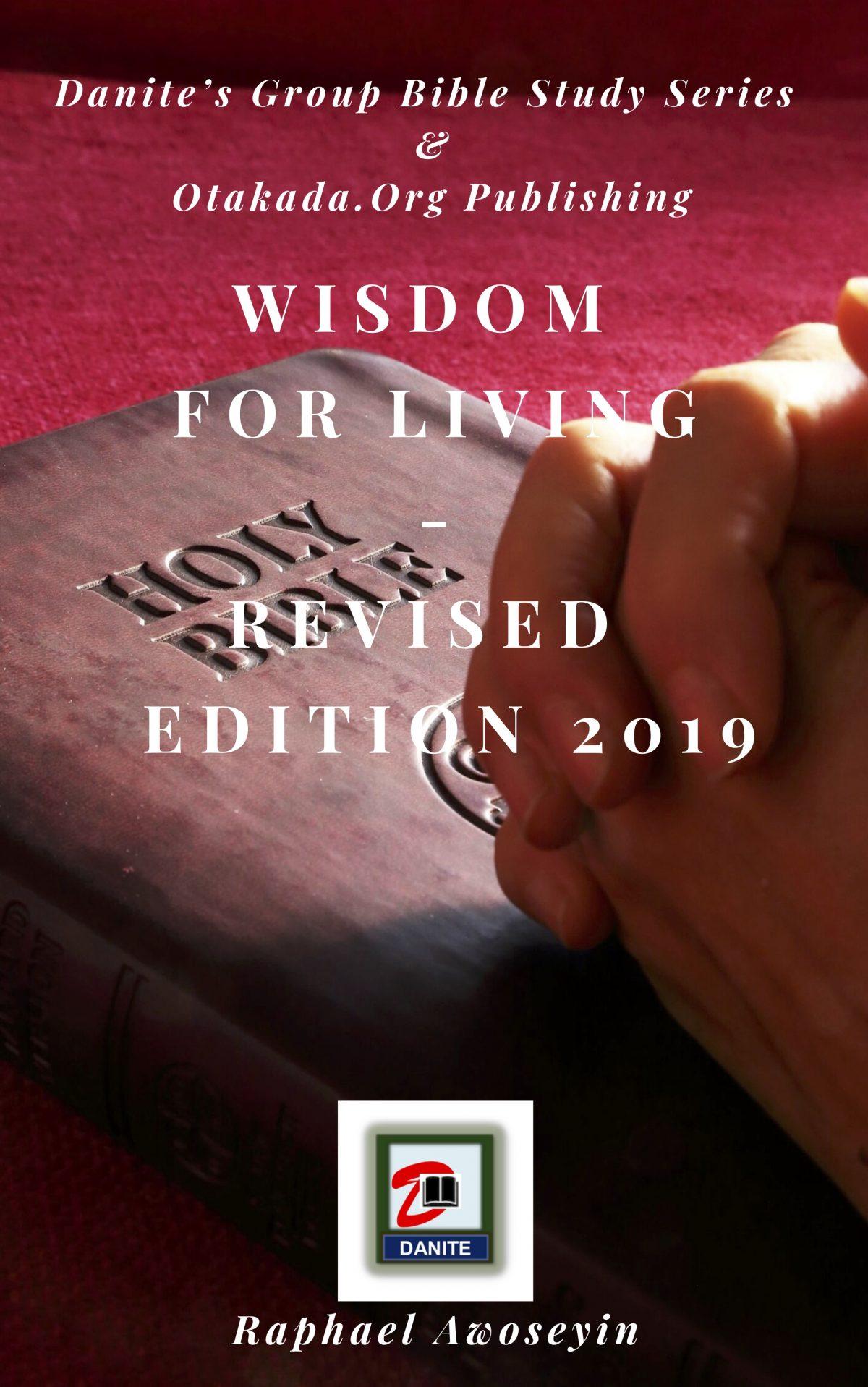 Wisdom for living english