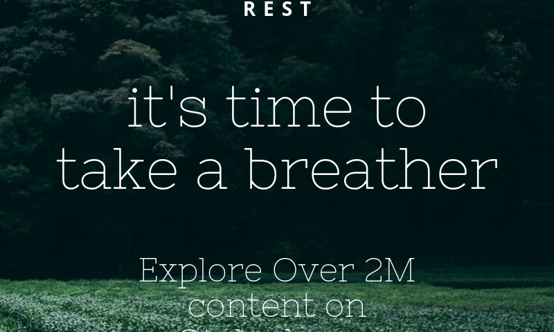 It's time to take a breather – Explore over 2 million content on otakada.org all in one place! Today, we provide you 21 verses on rest. Enjoy