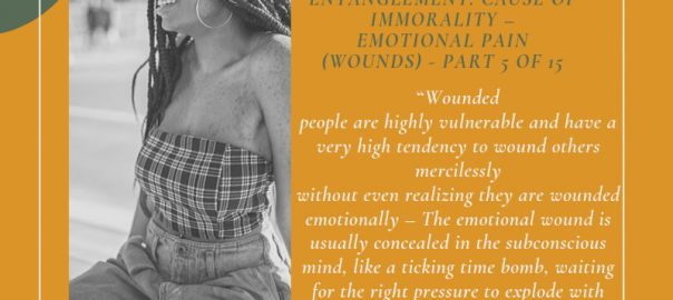 """""""Wounded people are highly vulnerable and have a very high tendency to wound others mercilessly without even realizing they are wounded emotionally – The emotional wound is usually concealed in the subconscious mind, like a ticking time bomb, waiting for the right pressure to explode with devastating consequences to self and others"""" - Monday Ogwuojo Ogbe, Personal Reflections"""