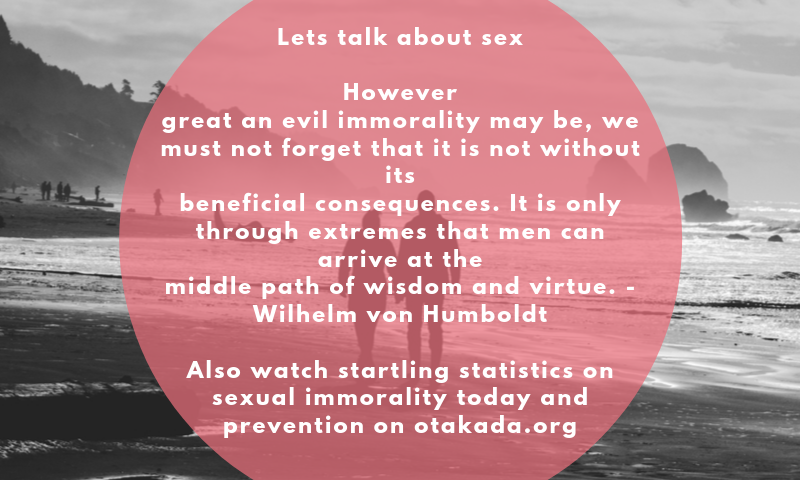 The Christian Church – Let's Talk About Sex - Understanding the Entrapment of Emotional and Sexual Entanglement: Process of Immorality –Step 2 - There was no sexual involvement - Part 8 of 15